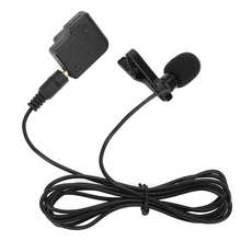1.5M Condenser Recording Collar Clip Microphone for DJI OSMO ACTION Sports Camera New External Microphone Black Color HOT