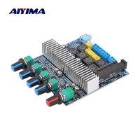 AIYIMA Audio-amplificador de Subwoofer TPA3116, 2.1 estéreo HIFI, potencia Digital, Bluetooth, compatible con amplificador de graves de 2x50W + 100W