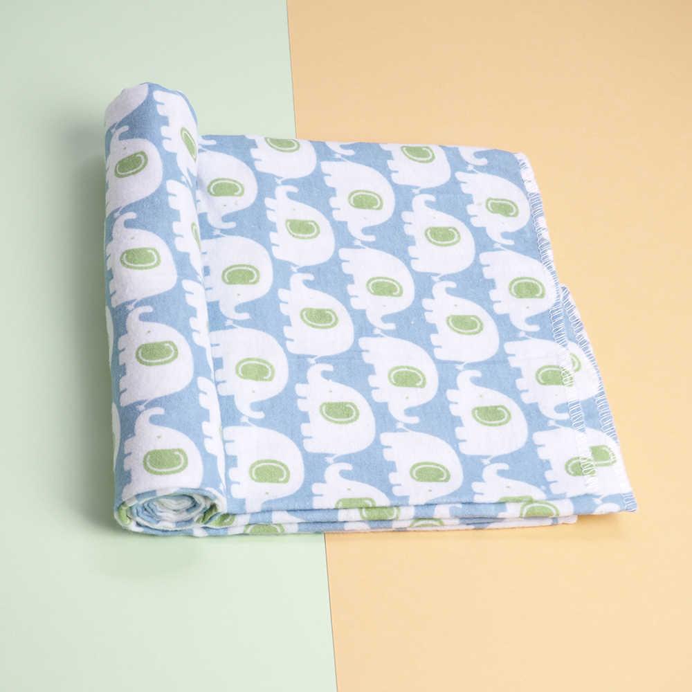 4 ชิ้น/ล็อตผ้าฝ้าย 100% รับผ้าห่มเด็กเด็กอ่อน Muslin ผ้าอ้อมทารกแรกเกิดผ้าห่ม Swaddle Muslin Swaddle 76*76 ซม.
