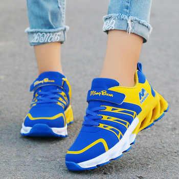 Herbst Kinder Schuhe Jungen Turnschuhe Atmungs Patchwork Haken & Schleife Sport Laufschuhe Kinder Schuhe Für Mädchen Casual Schuhe 2020