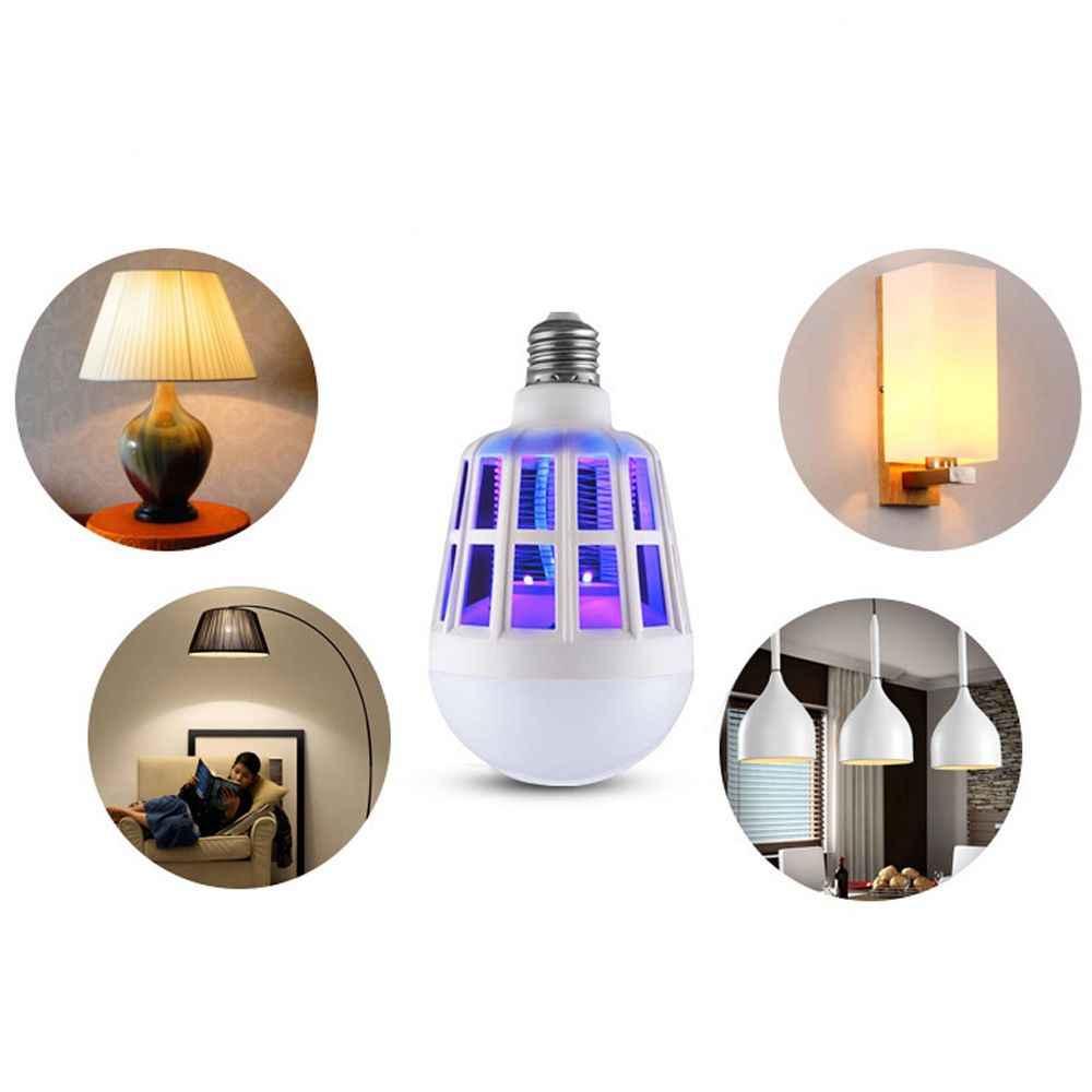 1 pc 蚊ランプ E27 フライ忌避 uv リペラー誘致蚊キラーアンチ昆虫電球 led ランプナイトライトアクセサリー