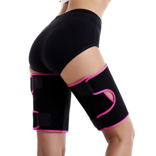 Waist Trimmer Protector Belt Weight Loss Sweat Band Wrap Fat Tummy Stomach Sauna Sweat Belt With Calf Suppor 2