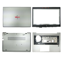 Neue Silber Laptop Für HP EliteBook 840 G5 740 G5 LCD Back Cover Top Fall/Front Lünette/Palmrest/unteren Fall L15502-001 L14371-001(China)