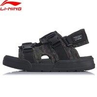 (Clearance) Li Ning Men COCA Outdoor Aqua Shoes Wearable Beach LiNing Stylish Light Weight Sandals Sneakers AGUP001 XML283