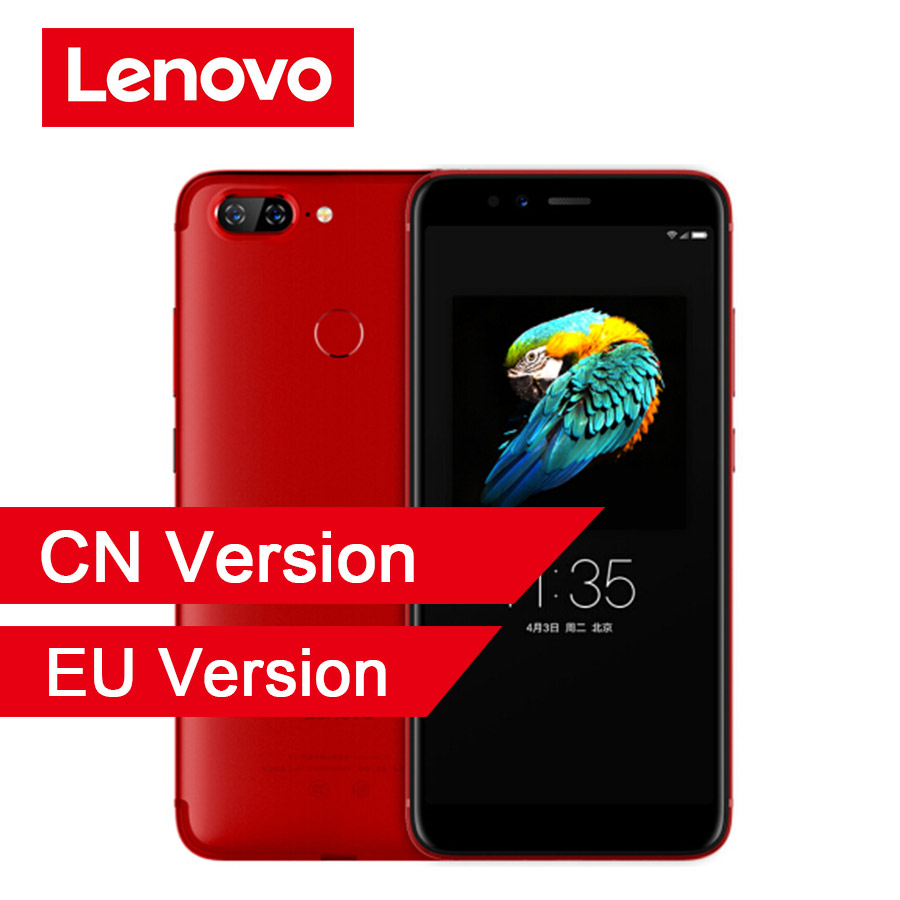 Lenovo S5 K520 4GB RAM 64GB ROM Smartphone Dual Rear 13MP + Front 16MP Face ID 18:9 Full Screen 4K Video Mobile Phone