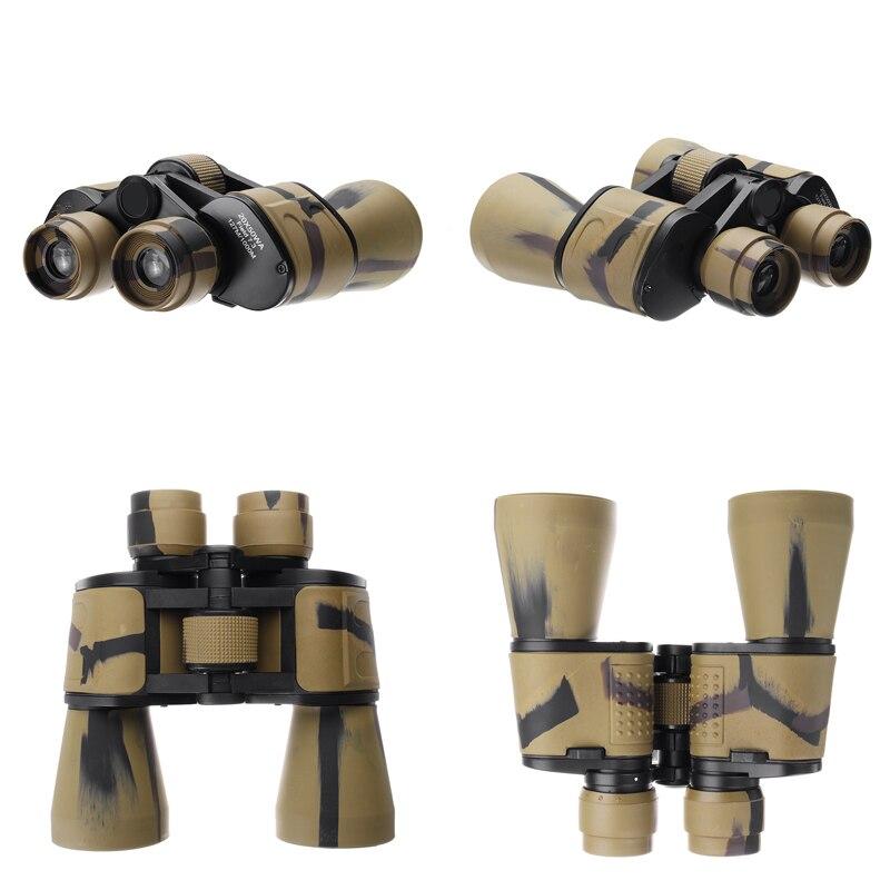 20x50 High Clarity Binoculars Powerful Military binocular For Outdoor Hunting Optical glass Hd Telescope low light Night Vision 5
