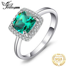1.5ct Nano Russian Emerald Ring Size 6 7 8 For Women Best Gift 925 Solid Sterling Silver 2014 Brand New Promotion Jewelry Set