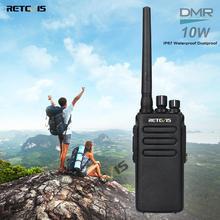 ที่มีประสิทธิภาพ DMR วิทยุ Retevis RT81 ดิจิตอล Walkie Talkie กันน้ำ IP67 UHF VOX การเข้ารหัส Long way วิทยุการล่าสัตว์ /เดินป่า