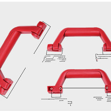 Replaceable handles for trolley luggage accessories  LD093-49982