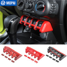 Mopai abs car window lift switch button panel decoration cover