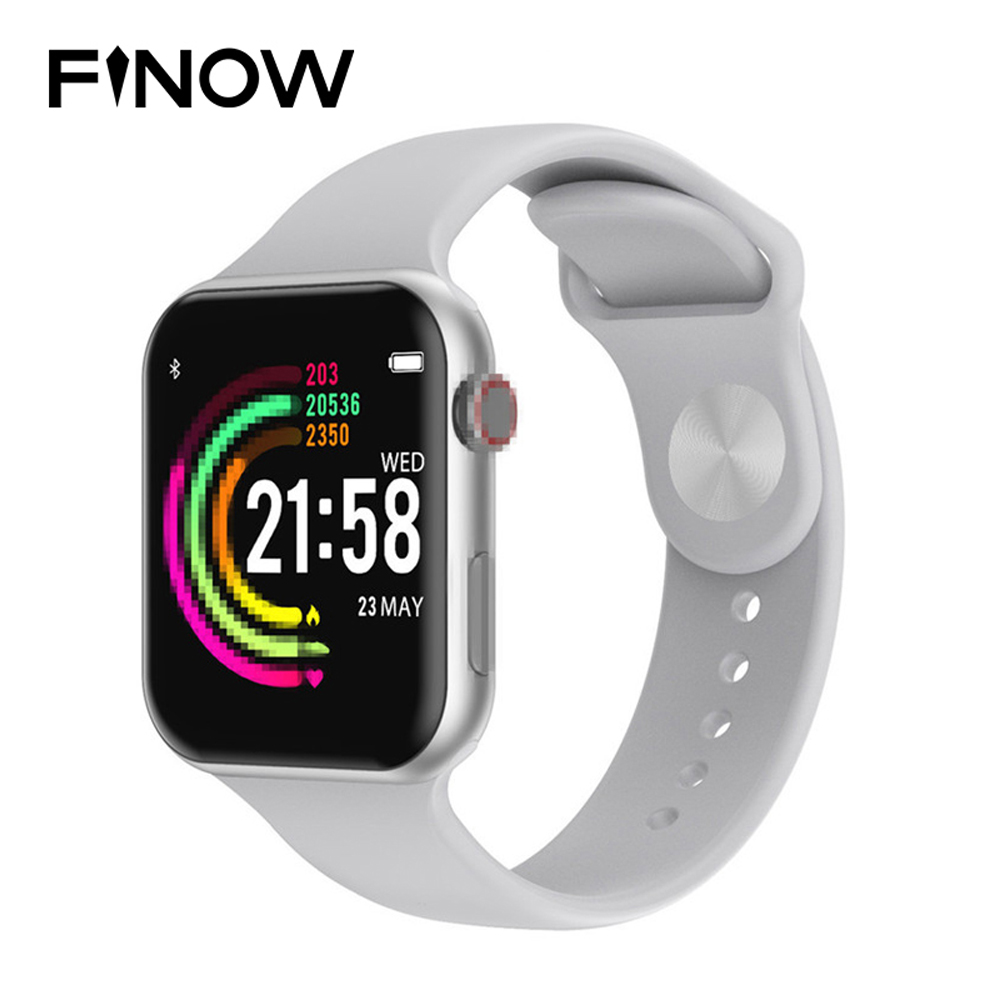 Finow <font><b>F10</b></font> Bluetooth Smart Watch ECG Heart Rate Monitor iwo 8 lite <font><b>Smartwatch</b></font> for Android IOS PK xiaomi band 4 Plus 10 Watch image