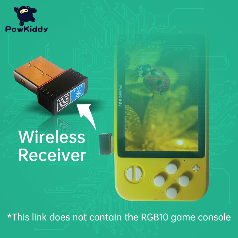 POWKIDDY Wireless WIFI Dongle Receive Suitable For Powkiddy RGB10 RG351P Handheld Game Console WIFI Adapter