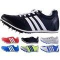 Беговые кроссовки с шипами для мужчин и женщин, профессиональные беговые кроссовки, мягкие кроссовки 35-45