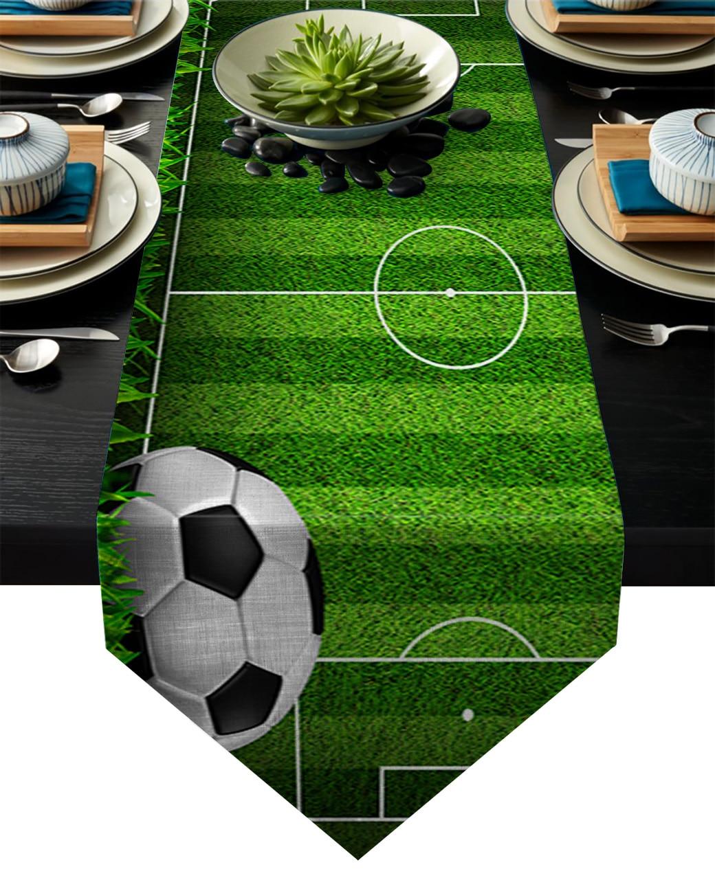FOOTBALL THEME PARTY TABLECLOTH 120 x 180CM