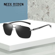 Neek Reden Brand Design Classic Retro Polarized Sunglasses Men Driving Square Frame Sun Glasses Male Goggle Gafas De Sol NK533 feidu 2016 polarized square sunglasses men bra1000nd design women retro half frame sun glasses for men driving gafas oculos de sol