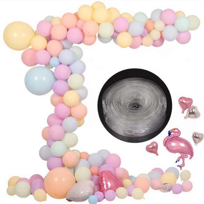 שמח רקע גומי מסיבת חתונה אביזרי משאבת קישוטי בלוני ילדים DIY קליפים שרשרת למבוגרים חותם יום הולדת קשת