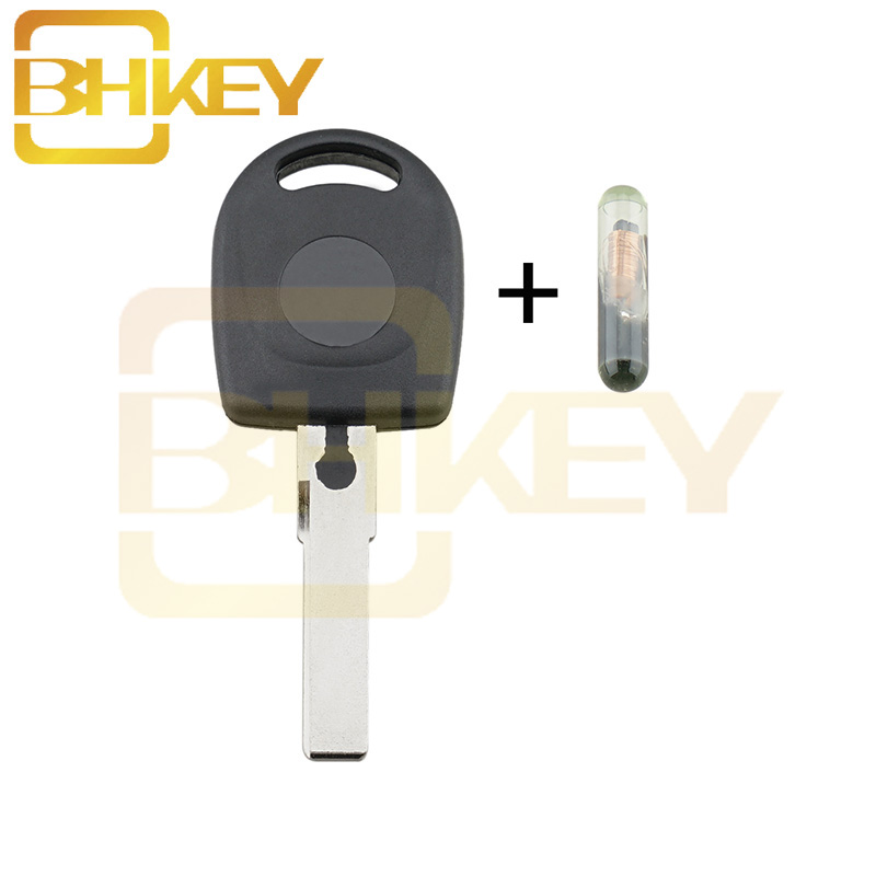 2 Pack Discount Keyless Replacement Ignition Transponder Uncut Key Compatible with MEGAMOS ID 48