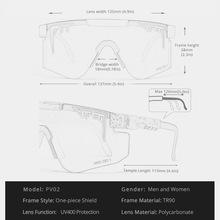 Pit Viper oryginalne ponadgabarytowe pół okulary przeciwsłoneczne bezramkowe mężczyźni UV400 pół ramki sportowe FashionGoggle duże lustrzane odcienie z bezpłatnym pudełkiem tanie tanio CN (pochodzenie) Dla osób dorosłych Z plastiku i tytanu NONE polaryzacyjne MIRROR Przeciwodblaskowe 58mm Z poliwęglanu