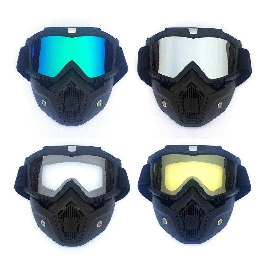Snow Ski Glasses Snowmobile Goggles Skiing Full Mask Snowboard Glasses Windproof Motocross Sunglasses Outdoor Eyewear