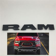 Front Grille Nameplate Emblem Logo For DODGE RAM 1500 Rebel DT for 02 05 dodge ram 1500 03 05 dodge ram 2500 3500 chrome mesh front grille new usa domestic free shipping hot selling