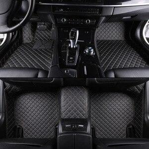 Image 1 - kalaisike Custom car floor mats for Nissan All Models qashqai x trail tiida Note Murano March Teana car styling car accessories