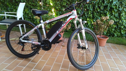 Купить huakaii 29 дюймов электрический велосипед 48v 1000w 15ah фара