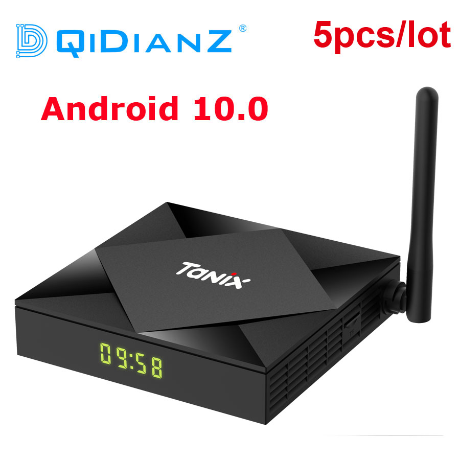 TV Box Tanix TX6S, Android 10,0, decodificador de señal H616 TX6, 4GB, 32 GB 64 GB, PK 9,0, reproductor multimedia, wi fi Dual, mejor que T95, A95X, H96 X96|Decodificadores|   - AliExpress