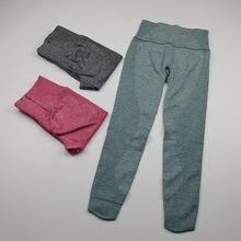 Леггинсы женские бесшовные с завышенной талией спортивные брюки