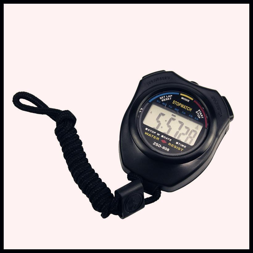 Hot Sale Stopwatch With Strap Professional High Quality Sports Digital Stopwatches Timer Chronograph Running Dropshipping