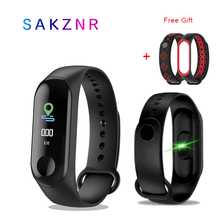 M3 Smart Bracelet Color Touch Screen Fitness Tracker Blood Pressure Heart Rate Monitor Band Sport Watch
