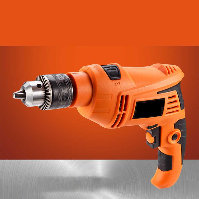 Conjunto de herramientas de perforación de impacto para carpintería decoración del hogar combinación de mantenimiento de taladro eléctrico multifuncional