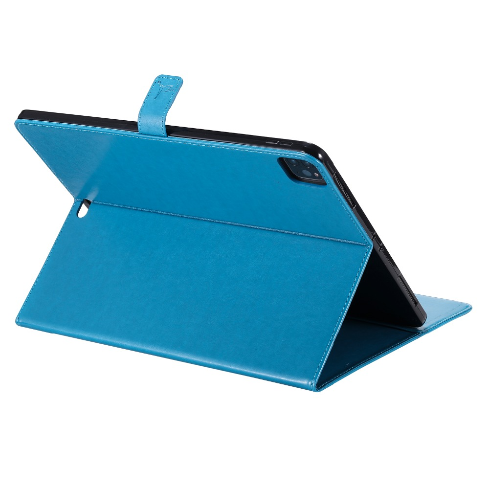 Cover Protective Cover Funda Stand 4th Gen Folio Shell iPad 2020 Leather For 12.9