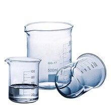 Laboratory5ml-- 2000ml Low Form Borosilicate Glass Beaker  Boro 3.3 Glass Beaker  thickened  free shipping 2000ml glass erlenmeyer flask 2000ml glass conical flask laboratory use 2000glass triangle flask boro glass gg17