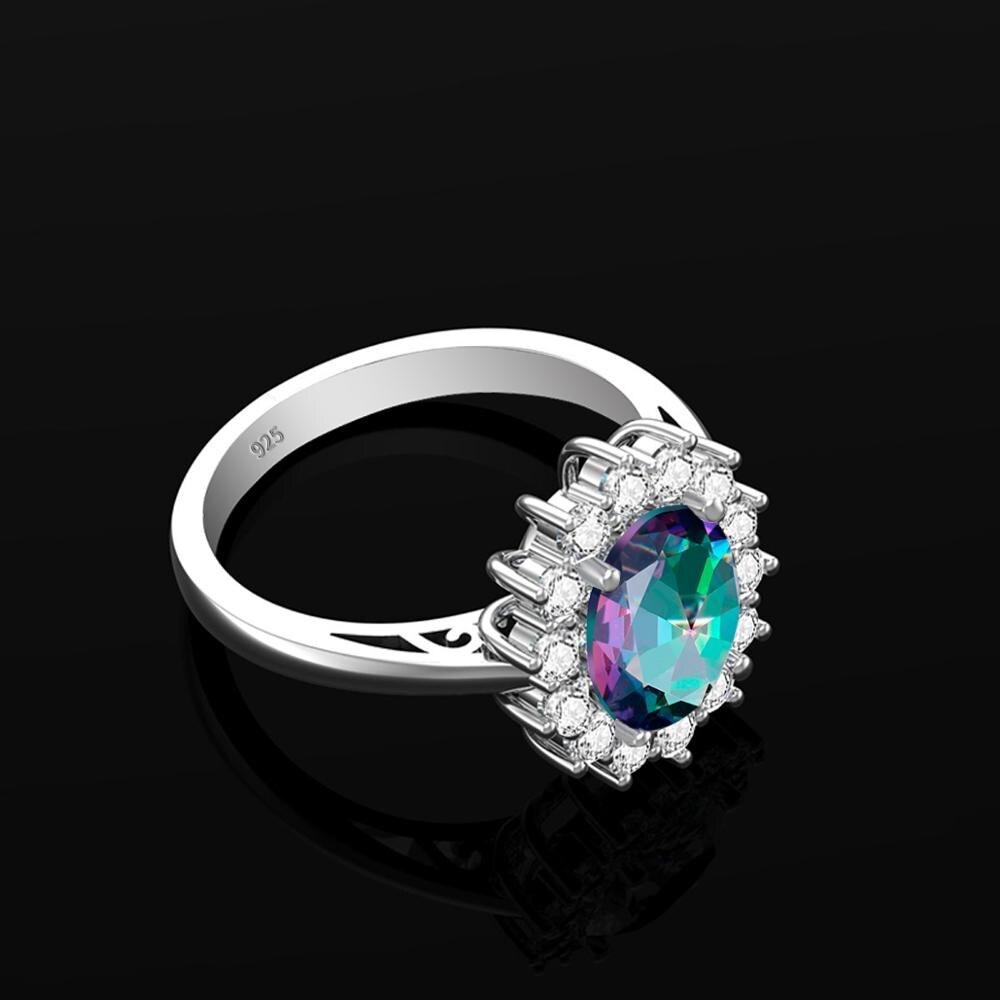 Пробы Серебряные кольца для Для женщин Уникальный Мистический