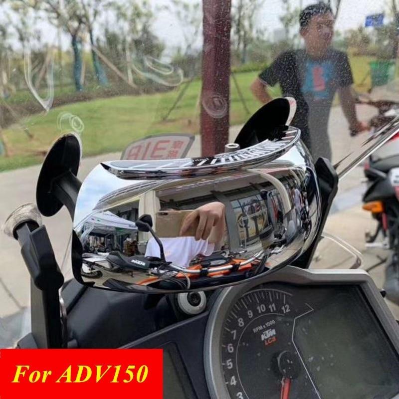 adv150 pcx150 froza250 180 graus de seguranca da motocicleta modificado espelho retrovisor espelho para adv150