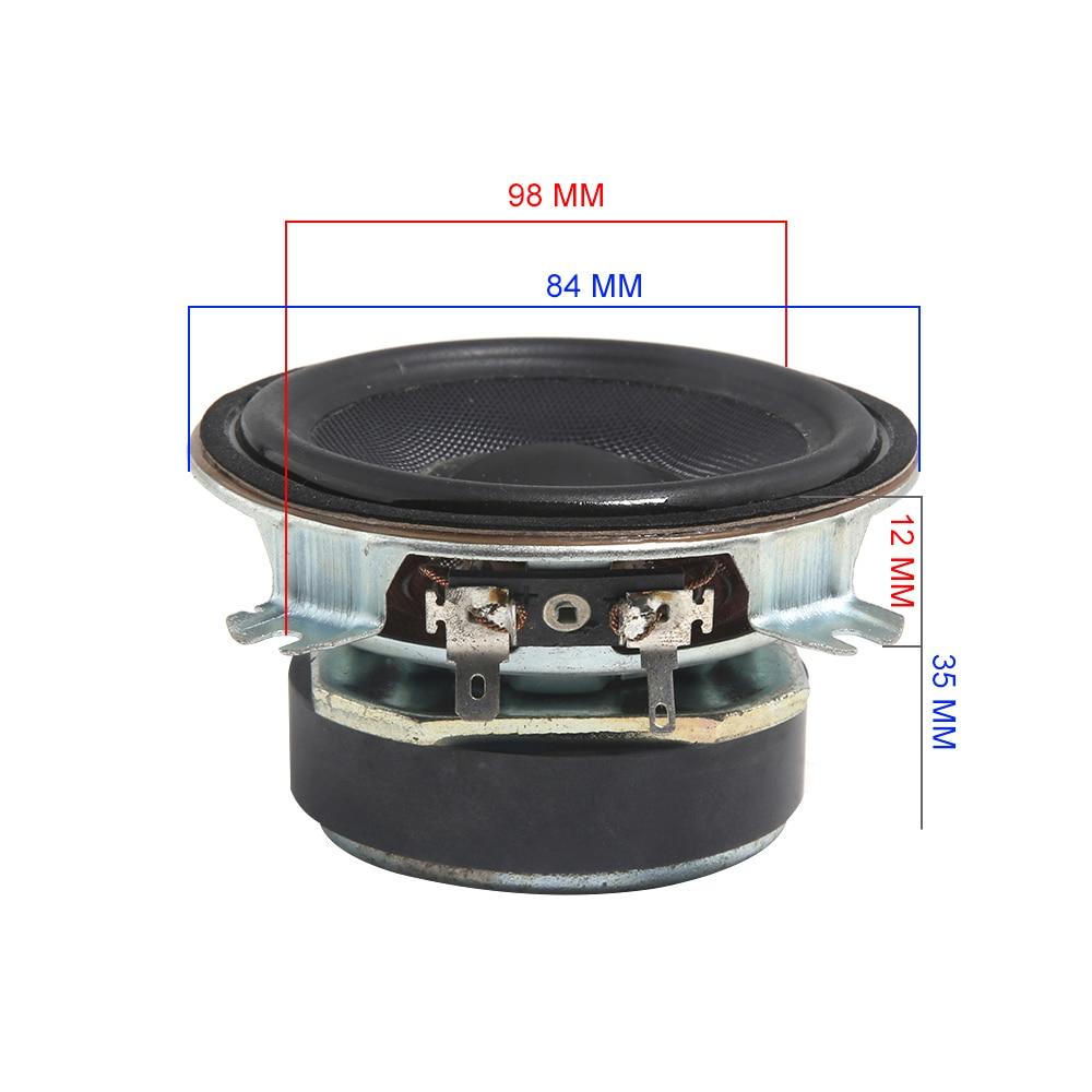 1pcs For Peerless 52mm 4Ohm 20~60W Tweeter speaker Loudspeaker