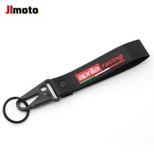 High Quality For Aprilia GPR RSV4 RS125 RS250 Universal Key Chain Ring New Motorcycle Double-Sided Embroidered Keyring Keychain