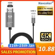 Лучший usb c 31 к hdmi 4k адаптер Кабели Тип кабель для macbook