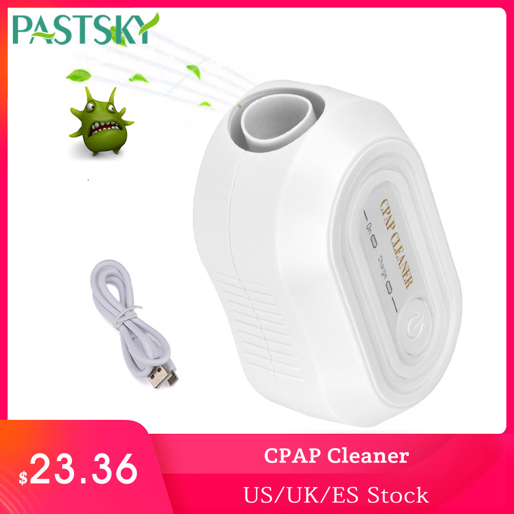 Portable CPAP Cleaner Ozone Ventilator Disinfector Sleep Aid Breathing Air Purifier Respirator Disinfection Machine Health CareSleep & Snoring   -