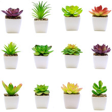 Artificial Green Plants Bonsai Small Tree Pot Plants Fake Flowers Potted Ornaments For Home Decoration Hotel Garden Deco