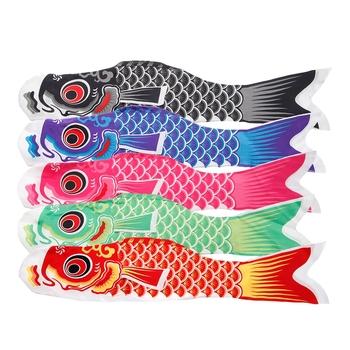 55cm 70cm 100cm 150cm Koi Nobori skarpety wiatrowe Koinobori kolorowe ryby flaga wiszące dekoracje ścienne tanie i dobre opinie OOTDTY NYLON 12-15 lat Dorośli 8-11 lat Kite reel bag Unisex OCTOPUS Zestaw