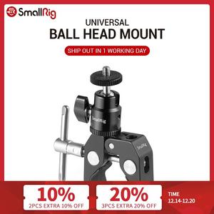 Image 1 - SmallRig DSLR Camera Super Clamp Holder w/ Ball Head Mount Hot Shoe Adapter For Gopro ,Camera Light , Monitor  Attachment   1124