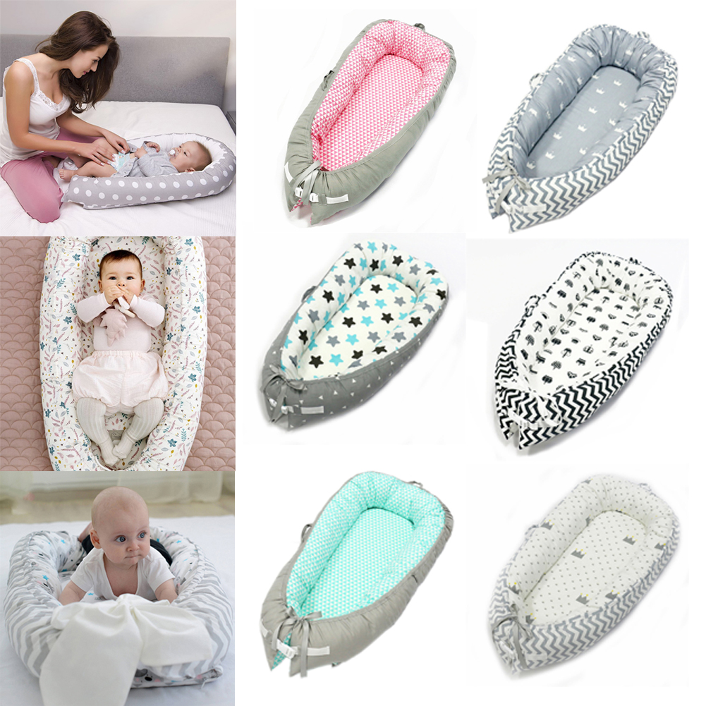 YOOAP Cotton Baby Bed Uterus Bionic Bed Portable Removable And Washable Newborn Sleep Bed Baby Things Baby Stuff For Baby Gift