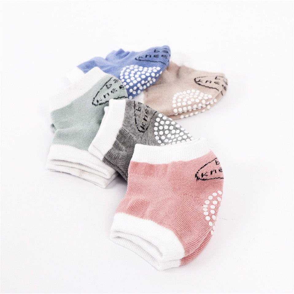 Baby Kids Antiskid Knee Pad Leg Warmers