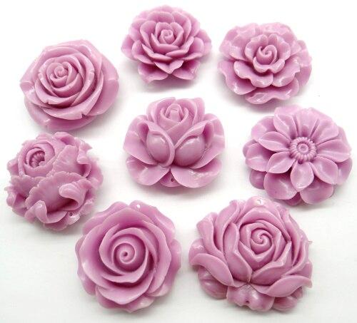 Китайский органический Cinnabar натуральный кристалл кварца резной розовый цветок Шарм кулон для diy для изготовления украшений ожерелья Аксессуары A17 Подвески      АлиЭкспресс