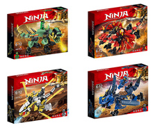 New Ninja Ninjagoingly Dragon Building Block KAI JAY COLE ZANE Lloyd Action Figures Toys for Children Gifts