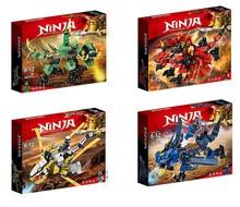 Nuovo Ninja Ninjagoingly Drago Building Block KAI JAY COLE ZANE Lloyd Action Figure Giocattoli per I Regali Dei Bambini
