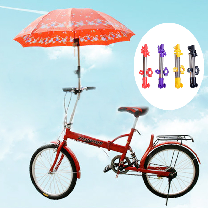 Umbrella Stands Wheelchair Bicycle Pram Swivel Umbrella Connector Stroller Holder Any Angle FOU99
