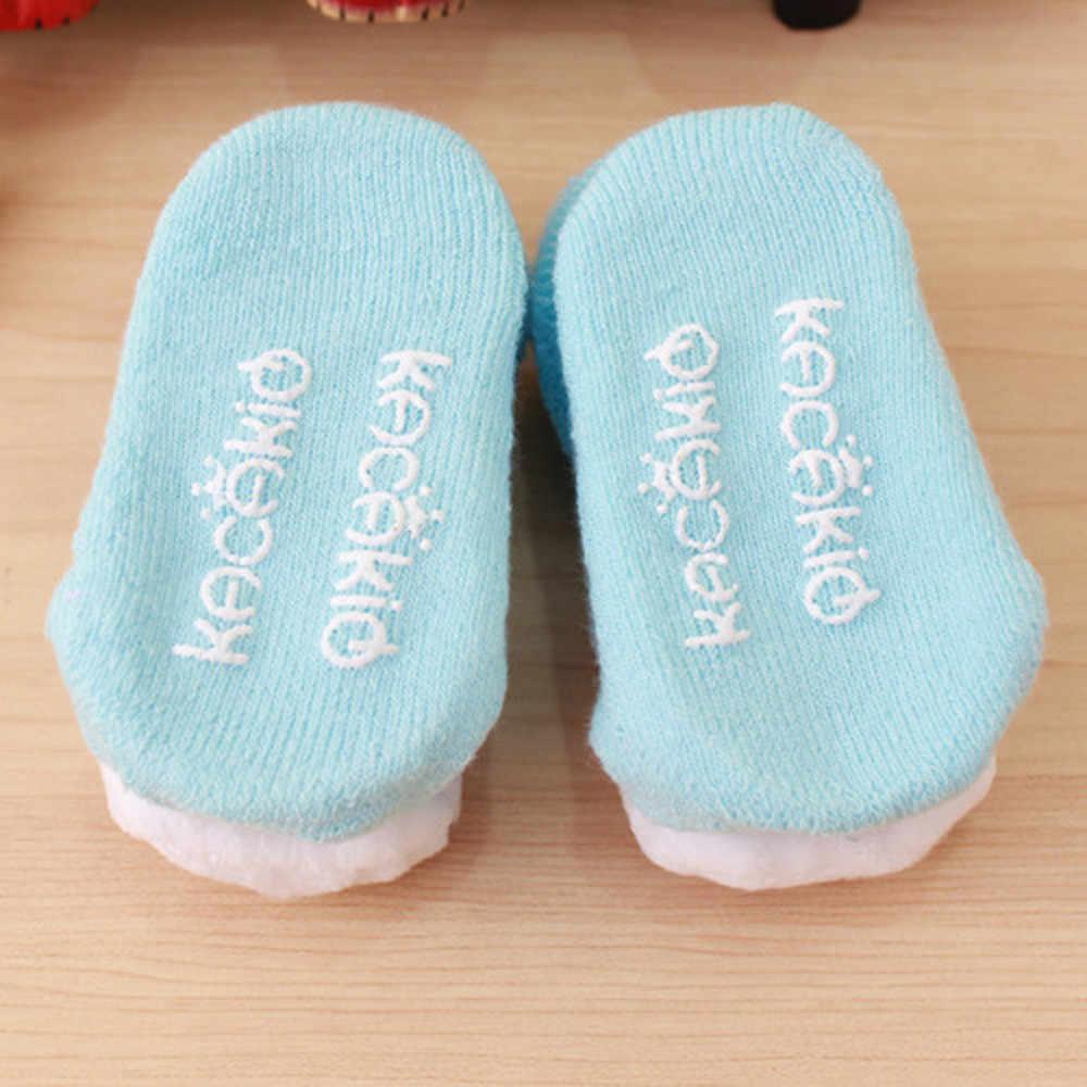 קריקטורה יילוד ילדי תינוק בנות בנים אנטי להחליק חמוד 3D ארנב חם כותנה גרבי נעל נעלי מגפי תינוק פעוט גרבי 2020 חדש