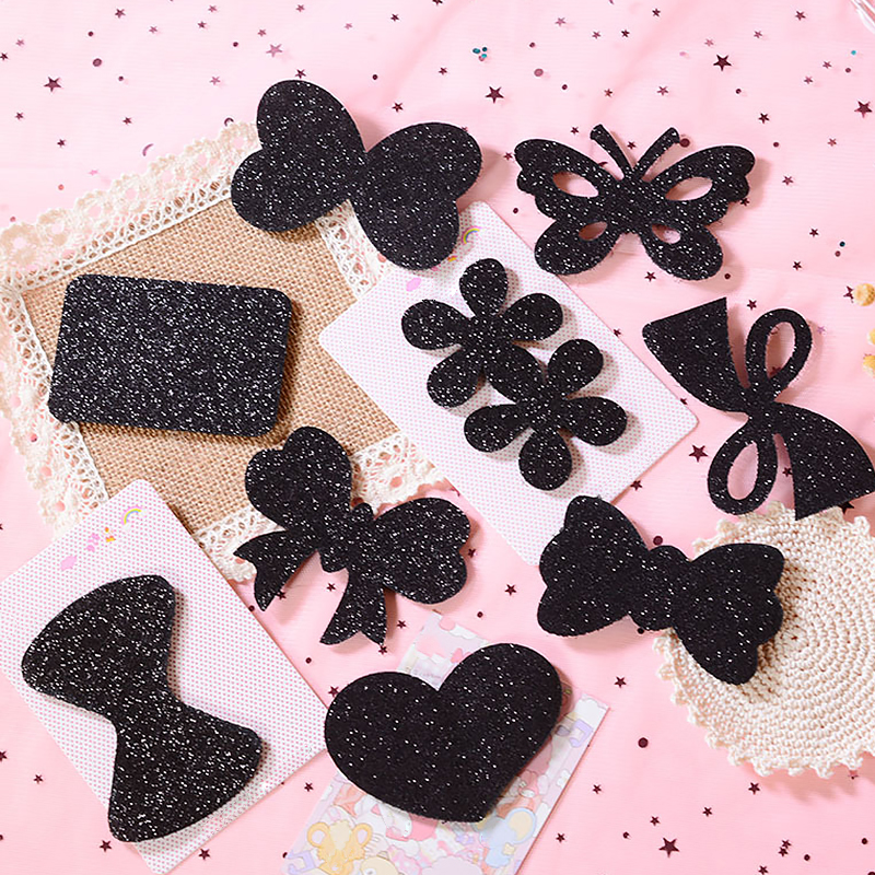 Seamless Magic Glitter Hair Pads 9PCS
